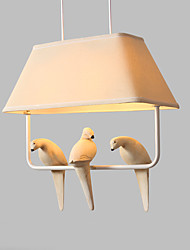 Dining-room Lamp/Post-modern Style/Lodge Nature Inspired Chic & Modern Country Traditional/Classic Retro Painting Feature for Matte