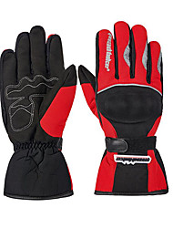 MADBIKE MAD-13 Motorcycle Gloves Electric Car Racing Warm All Fingers Gloves Winter Cold Windproof Waterproof