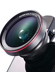 Cherllo 025 Mobile Phone Lens 0.6X Wide Angle 12.5X Macro External Lens