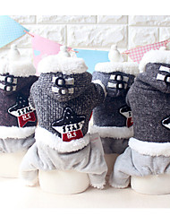 Dog Clothes/Jumpsuit Dog Clothes Casual/Daily Keep Warm Stars