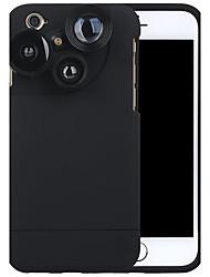 Caméra de téléphone portable purecolor iphone6 / 6s 4.7 pouces grand angle 0.65x macro 180 oeil de poisson avec lentille externe de
