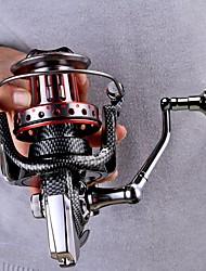Molinetes de Pesca Molinetes Rotativos Molinete de Isco 4.7:1 11 Rolamentos Trocável Pesca de Mar Isco de Arremesso Pesca no Gelo Rotação