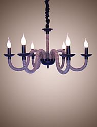 Loft industrial vento vintage ferro lâmpadas cafeterias restaurante lustres luzes de lâmpada de corda