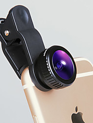 IVR Mobile Phone Lens Fish Eyes Large Wide Angle Full Glass Lens External Lens