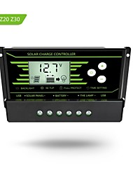 Y-SOLAR PWM  20A  Solar Charge Controller 12V 24V Auto with Back-light LCD Display Dual USB 5V Solar Regulator Charger  Z20