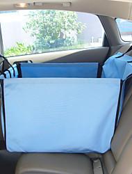 Dog Car Seat Cover Pet Mats & Pads Blue Beige