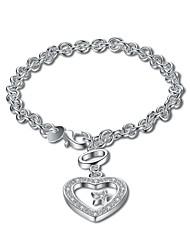 Femme Chaînes & Bracelets Charmes pour Bracelets Zircon cubiqueBasique Mode Vintage Bohême Style Punk Personnalisé Thérapie Magnétique