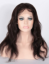 In Stock Indian Human Hair Body Wave Wigs Glueless Lace Front Wigs For Black Women With Baby Hair