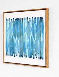 Shapes Framed Oil Painting Wall Art,PS Material With Frame For Home Decoration Frame Art Living Room Dining Room 1 Piece
