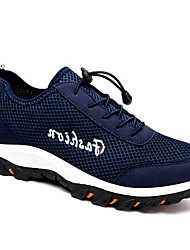 Men's Sneakers Comfort Breathable Mesh Summer Casual Royal Blue Navy Blue Black Under 1in