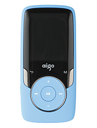Aigo MP3 MP3 / WMA / WAV / FLAC / APE Bateria Li-on Recarregável