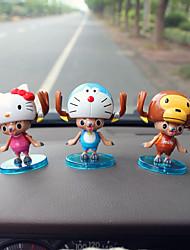Diy автомобильные украшения пираты куклы автомобилей подарок лося раздел 3 кулон автомобиля&Украшения из нефрита