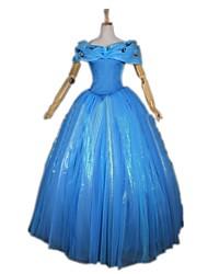 Uma-Peça/Vestidos Fantasias de Cosplay Princesa Conto de Fadas Fantasias Festival/Celebração Trajes da Noite das Bruxas Vintage Vestidos