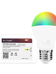 6W Ampoules LED Intelligentes A60(A19) 14 SMD 5050 600 lm RVB + chaudCapteur infrarouge Intensité Réglable Commandée à Distance Wi-Fi