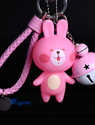Bag / Phone / Keychain Charm Bear Cute Cartoon Toy Jingle Bell Phone Strap PVC