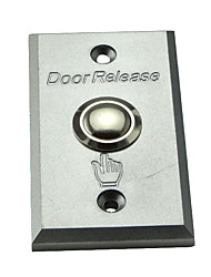 Metal Access Switch Hollow Door Frame Dedicated Aluminum Panel Access Control Switch