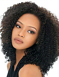 African american ombre 1b / 30 # cheveux capeux cheveux humains 18inch perruque longueur moyenne longue femme