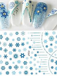 1 Стикер искусства ногтя С рисунком Женская униформа 3-D Компоненты для самостоятельного изготовления макияж Косметические Ногтевой дизайн