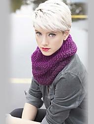 Des perruques simples et réalistes de cheveux courts pour cheveux humains pour femmes
