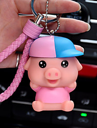 Bag / Phone / Keychain Charm Pig Cartoon Toy Phone Strap PVC