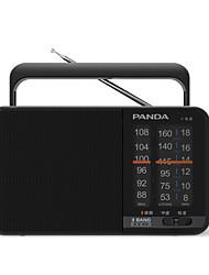 T-15 Radio portatil Tarjeta TFWorld ReceiverNegro