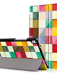 Cubierta de la caja de impresión para lenovo tab4 tab 4 8 plus tb-8704f tb-8704n 8704 con protector de pantalla