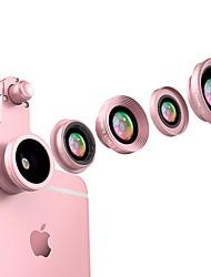 Lentilles de caméra flash mink smartphone 0.65x grand angle 10x macro lentille de poisson cpl 2.5x lentille focale longue pour ipod iphone