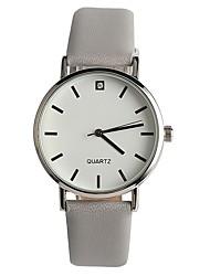 Women's Fashion Watch Japanese Quartz / PU Band Elegant Casual Grey