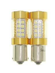 Sencart 2pcs 1156 ba15s p21w ampoule clignotant conduit la voiture arrière tournez les ampoules arrière (blanc / rouge / bleu / blanc