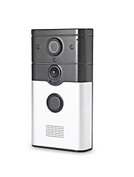 Intelligent Video Doorbell Wifi Visual Anti-Theft Doorbell Support APP Remote Monitoring With 1.0MP 720P Camera