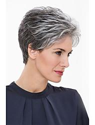 Естественные потусторонние короткие человеческие волосы парики