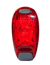 Luce posteriore per bici LED LED Ciclismo All'aperto Luci AAA Lumens Batteria Rosso Uso quotidiano Ciclismo All'aperto