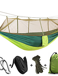 High quality with mosquito nets Hammocks Parachute Bunny Wrinkled Camping Swing Hangers Hang Tent