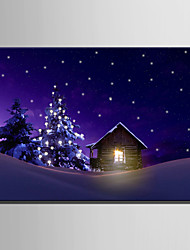 Cuadros con LEDs Un Panel Lienzos Horizontal Estampado Decoración de pared For Decoración hogareña
