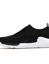 Da uomo Sneakers Innovativo Maglia traspirante Autunno Casual Nero Grigio Blu marino Bianco/nero Piatto