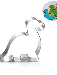 Dinosaur Cookies Cutter Stainless Steel Biscuit Cake Mold Metal Kitchen Fondant Baking Tools
