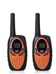 2pcs mini walkie talkie enfants radio 1w uhf fréquence portable hf émetteur-récepteur radio radio-hammam cadeau