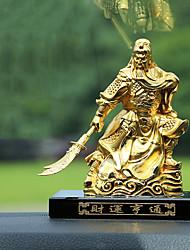 DIY Automotive Ornaments Gold Car Interior DecorationHome Furnishings Guan Gong Perfume Seat Wealthy Prosperous Car Pendant & Ornaments Alloy