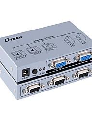 DTech VGA Switch VGA to VGA Switch Female - Female Two Input Three Output