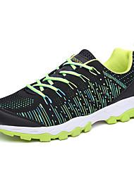Unisexe Chaussures d'Athlétisme Confort Tricot Automne Hiver Athlétique Décontracté Fitness et cross training Lacet Talon PlatPreto e
