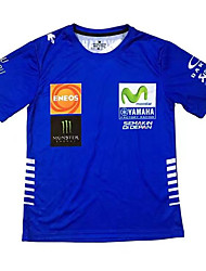 Motorcycle T-Shirt Yamaha Team Service Factory Serving Motorcycles Summer Riding Short Sleeve Cotton