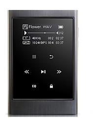 De alta fidelidadPlayer8GB Conector 3.5mm Tarjeta TF 32GBdigital music playerTáctil