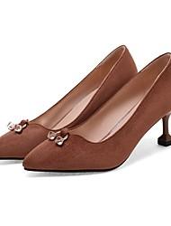 Damen Loafers & Slip-Ons Komfort Pumps Leuchtende Sohlen formale Schuhe maßgeschneiderte Werkstoffe FrühlingHochzeit Normal Kleid Party &