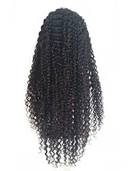 Kinky Curly Lace Front Human Hair Wigs With Baby Hair Brazilian Remy Hair Lace Wigs