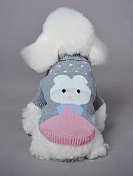 Собака Свитера Одежда для собак На каждый день Носки детские Серый Зеленый Синий