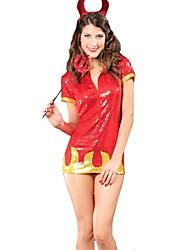 Costumes de Cosplay Bal Masqué Ange et Diable Cosplay Fête / Célébration Déguisement d'Halloween Autres Rétro Robes Baguette Coiffures