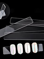 1PC Nail Art Tool Acrylic Article Show Transparent Show Piece Stick A Piece Of Display Shelf