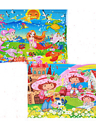 Jigsaw Puzzles Wooden Puzzles Building Blocks DIY Toys Bird Cat Dog House Sun Cartoon Other