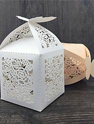50 Фавор держатель-Прочее Розовая бумага Коробочки