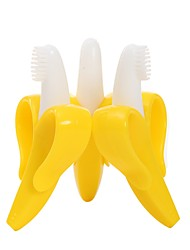 Baby Banana Infant Training Toothbrush and Teether Yellow